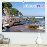 Rügen PUR (Premium, hochwertiger DIN A2 Wandkalender 2022, Kunstdruck in Hochglanz)