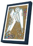 Goldene Engel - Kunst-Faltkarten m. Goldprägung im Schmuckkarton*
