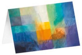 Lichteinfall - Kunst-Faltkarten ohne Text (5 Stück)