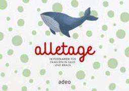 alletage - Postkartenbox