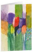 Tulpen 2 - Kunst-Faltkarten ohne Text (5 Stück)