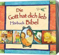 4-CD-Box: Die Gott hat dich lieb Bibel zum Anhören