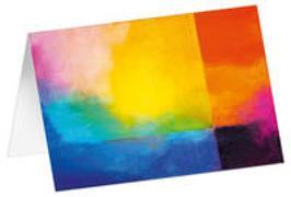 Licht am Abend - Kunst-Faltkarten ohne Text (5 Stück)