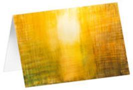 Abendlicht - Kunst-Faltkarten ohne Text (5 Stück)