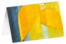 Cherub - Kunst-Faltkarten ohne Text (5 Stück)