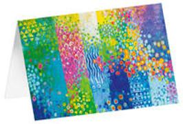 Blütenparadies - Kunst-Faltkarten ohne Text (5 Stück)