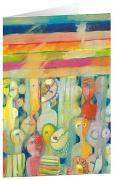 Spiegelbild - Kunst-Faltkarten ohne Text (5 Stück)