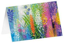 Gartentraum - Kunst-Faltkarten ohne Text (5 Stück)