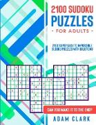 2100 Sudoku Puzzles for Adults
