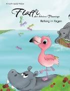 Flaffi, der kleine Flamingo - Rettung im Regen