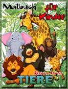 Malbuch Tiere für Kinder