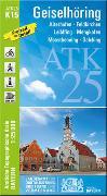 ATK25-K15 Geiselhöring (Amtliche Topographische Karte 1:25000)