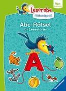 Ravensburger Leserabe Rätselspaß - Abc-Rätsel für Lesestarter ab 5 Jahren - Vor-Lesestufe