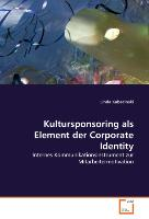Kultursponsoring als Element der Corporate Identity