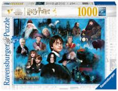 Ravensburger Puzzle 17128 - Harry Potters magische Welt - 1000 Teile Harry Potter Puzzle für Erwachsene und Kinder ab 14 Jahren