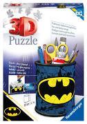 Ravensburger 3D Puzzle 11275 - Utensilo Batman - 54 Teile - Stiftehalter für Batman Fans ab 6 Jahren, Schreibtisch-Organizer für Kinder