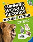 Guinness World Records Stickern und Rätseln: Wilde Tiere