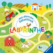 Ravensburger Mein allererster Rätselblock - Labyrinthe - Rätselblock für Kinder ab 3 Jahren