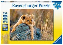 Ravensburger Kinderpuzzle - Kleiner Löwe - 200 Teile Puzzle für Kinder ab 8 Jahren