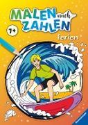 Ravensburger Malen nach Zahlen ab 7 Jahren Ferien - 48 Motive - Malheft für Kinder - Nummerierte Ausmalfelder
