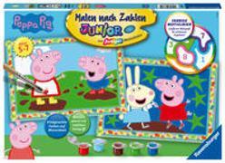 Ravensburger Malen nach Zahlen 28764 – Peppa Pig – Kinder 5-7 Jahren