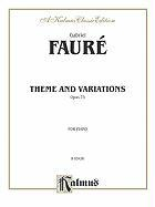 Theme and Variations, Op. 73