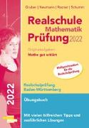 Realschule Mathematik-Prüfung 2022 Originalaufgaben Mathe gut erklärt Baden-Württemberg