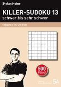 Killer-Sudoku 13 - schwer bis sehr schwer