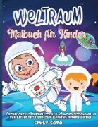 Weltraum-Malbuch für Kinder