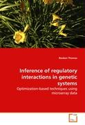Inference of regulatory interactions in genetic systems