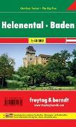 WK 012 OUP Helenental - Baden, Outdoor Pocket, Wanderkarte 1:40.000
