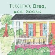 Tuxedo, Oreo, and Socks