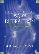 Elements of X-Ray Diffraction:International Edition