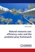 Natural resource use: efficiency rules and the predator-prey framework