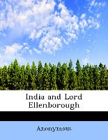 India and Lord Ellenborough
