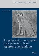 La préposition en égyptien de la première phase