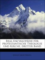 Real-Encyklopädie für protestantische Theologie und Kirche, dritter Band