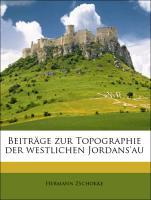 Beiträge zur Topographie der westlichen Jordans'au