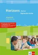 Horizons Atelier. L' expression écrite. Arbeitsheft mit CD