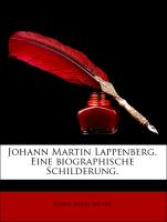 Johann Martin Lappenberg. Eine biographische Schilderung