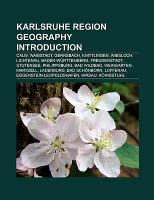 Karlsruhe region geography Introduction