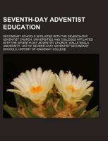 Seventh-day Adventist education