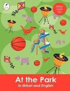 At the Park in Maori and English