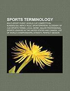 Sports terminology