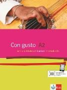 Con gusto A2 - Lehr- und Arbeitsbuch + 2 Audio-CDs