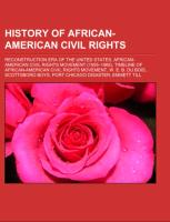 History of African-American civil rights