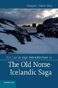 The Cambridge Introduction to the Old Norse-Icelandic Saga