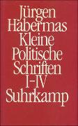 Kleine Politische Schriften (I–IV)
