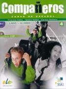 Compañeros 4. Libro del alumno. B1.2 (Incl. 2 CD)