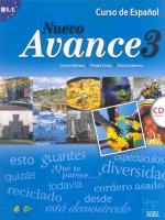Nuevo Avance 3. B 1.1. Alumno. Incl. CD.